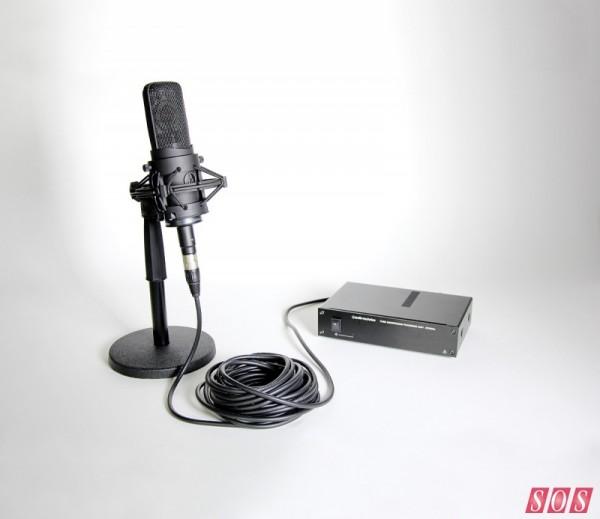 铁三角 AT4060A 电子管话筒评测