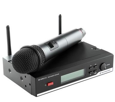 森海塞尔 xsw 65一拖一无线手持话筒图片
