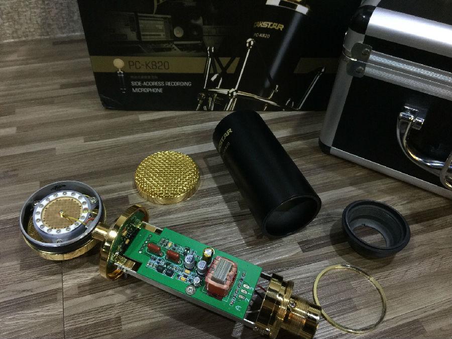 得胜金杯麦克风pc-k820使用评测