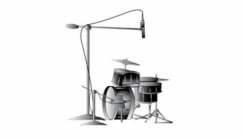 录架子鼓需求几只麦克风?格莱美录音师通知你