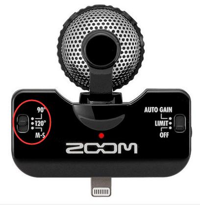 ZOOM IQ5麦克风如何在苹果手机上唱歌