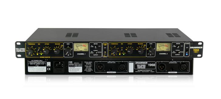 此次推出的 1968 立体声场效应晶体管压缩器是该公司在音频录制产品上