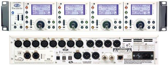 focusrite liquid 4-pre 4通道liquid话筒/线路前置放大器【价格|图片