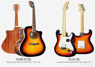 电箱吉他与电吉他的不同概念,区别