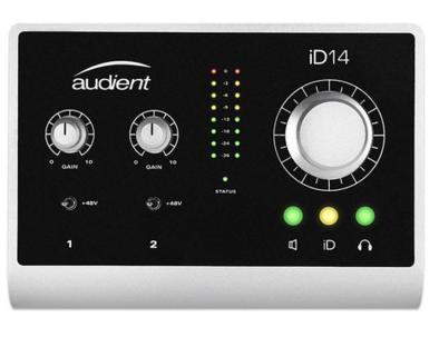 Audient iD14声卡驱动及固件升级下载