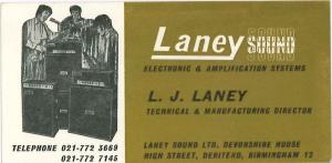 迈好每一步—英国知名音箱品牌Laney