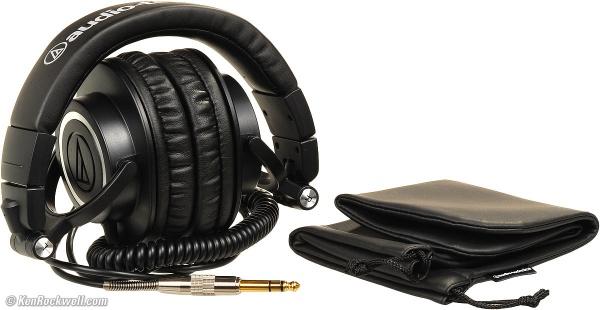 国外用户评测鐵三角监听耳机 ATH-M50
