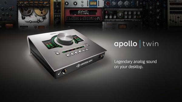 Apollo Twin 音频接口评测与概述