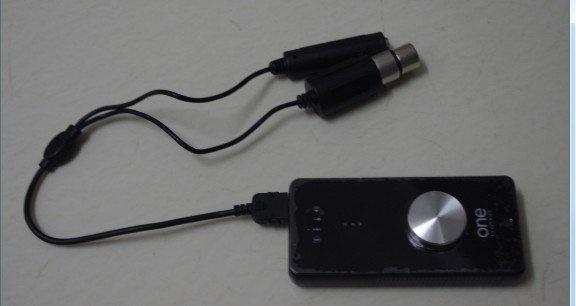 Apogee One 音频接口试用评测