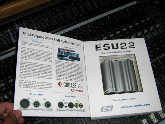 ESI  ESU22评测-又一高性价比入门级专业声卡