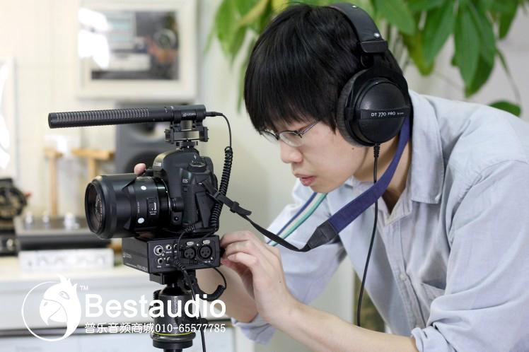 个人使用单反相机拍摄微电影时的音视频解决方案