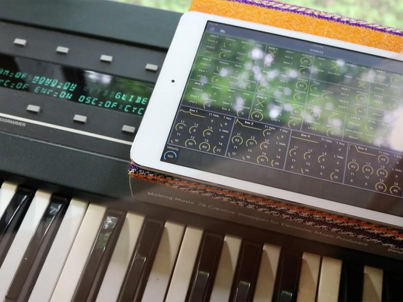 Patch Base for iPad 编辑器开始支持 microKORG 等多个合成器