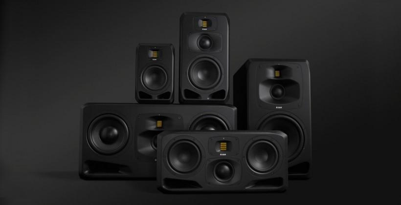 Adam Audio 发布全新 S 系列旗舰监听,从大到小一共五款