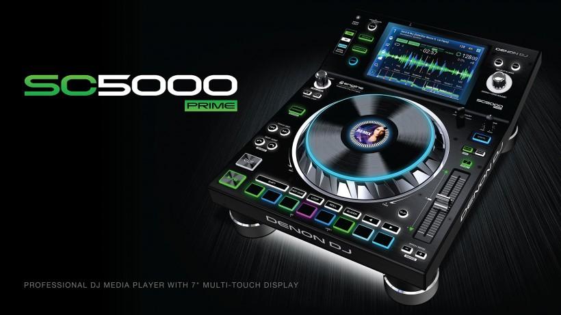 Denon DJ 发布旗舰级多媒体 DJ 播放器 SC5000 PRIME