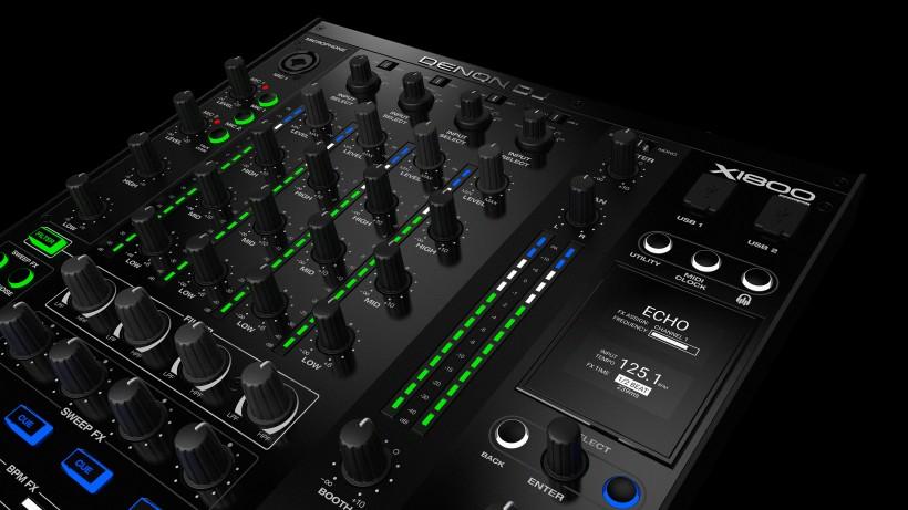 Denon DJ 发布 X1800 Prime 四路 DJ 混音台