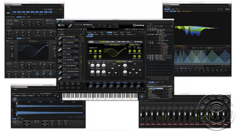 Steinberg 升级采样器工作站软件 HALion 6 和音色库 HALion Sonic 3、Absolute 3