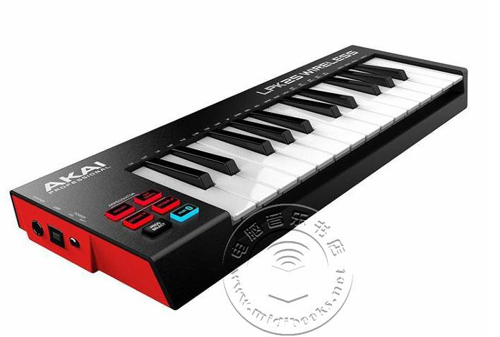 Akai发布L系列MIDI控制器无线蓝牙版
