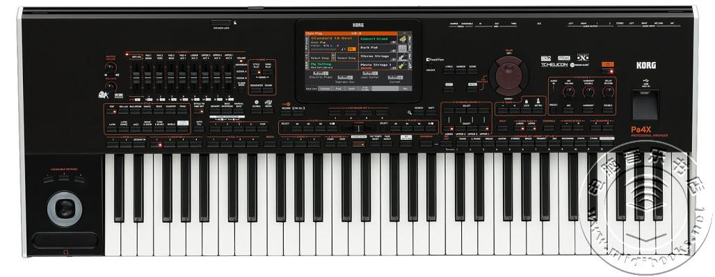Korg 发布 Pa4X 旗舰级专业编曲键盘,PCM 音源容量扩大十倍