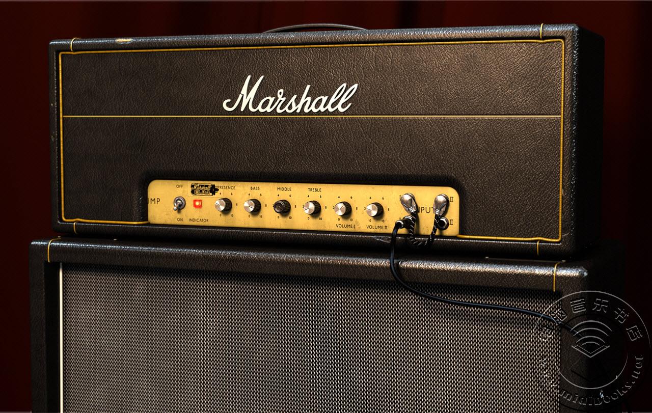 可用在 UAD-2 上的 Marshall Plexi 放大器插件