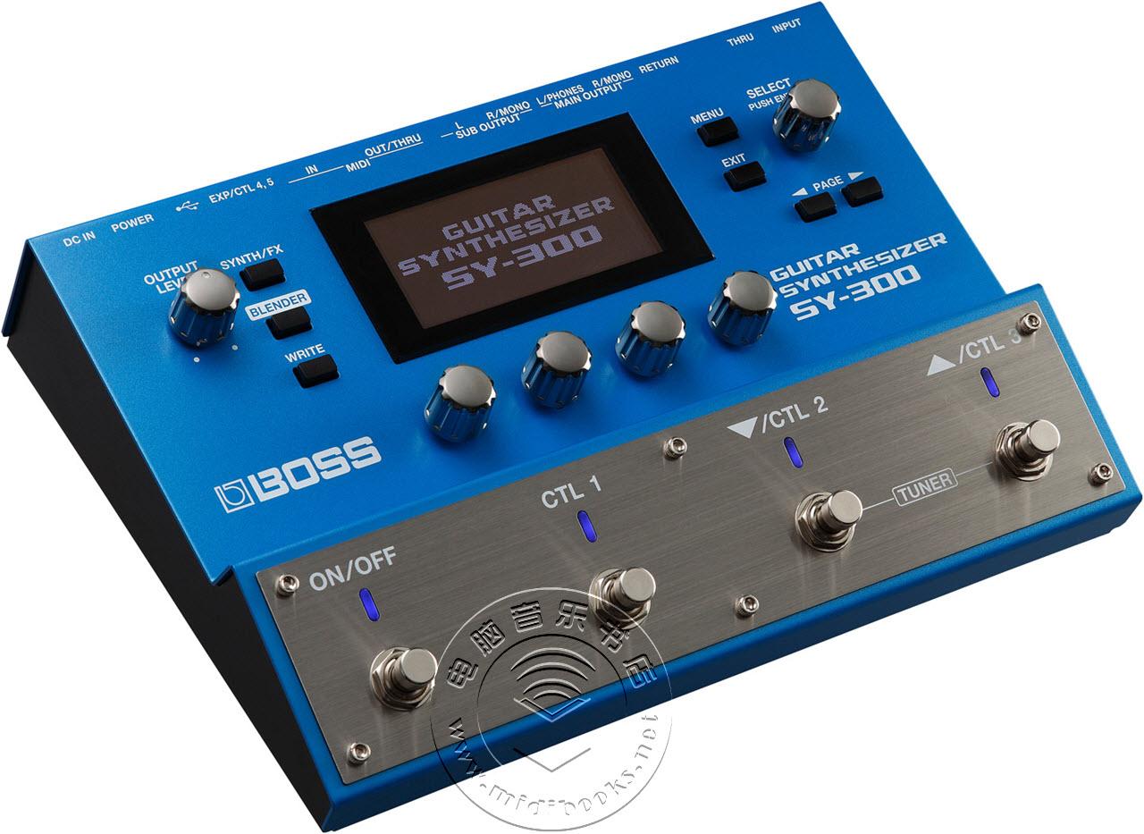 Boss 发布 SY-300 吉他合成器踏板(多效果器)