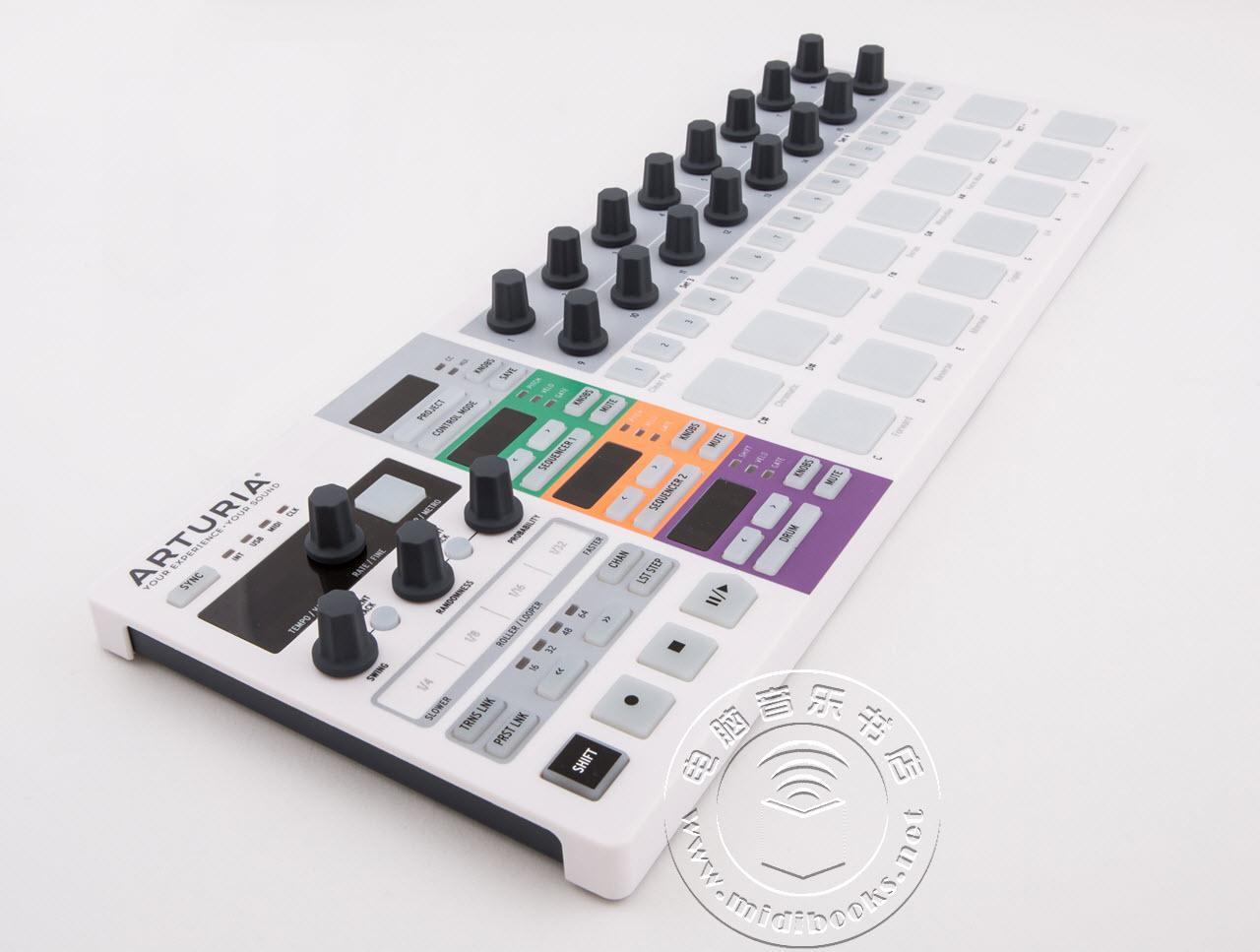 Arturia发布BeatStep Pro MIDI/音序控制器