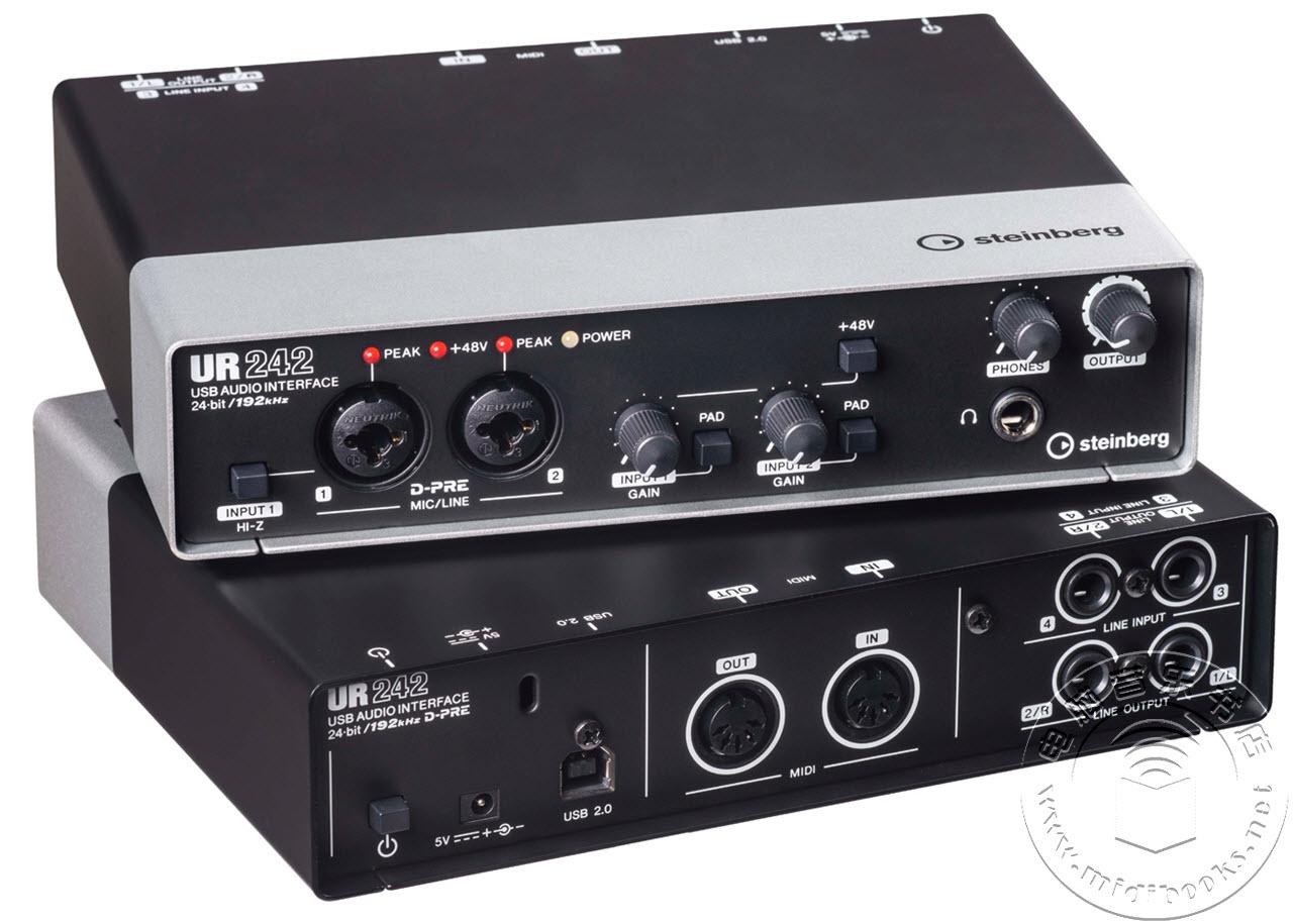 Steinberg 发布 UR242 跨界音频接口
