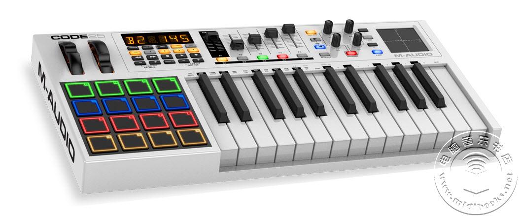 M-Audio发布Code系列MIDI键盘控制器,整合DAW