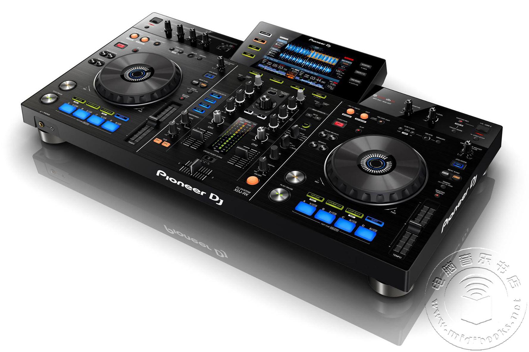 先锋(Pioneer)发布新款XDJ-RX DJ MIDI控制器