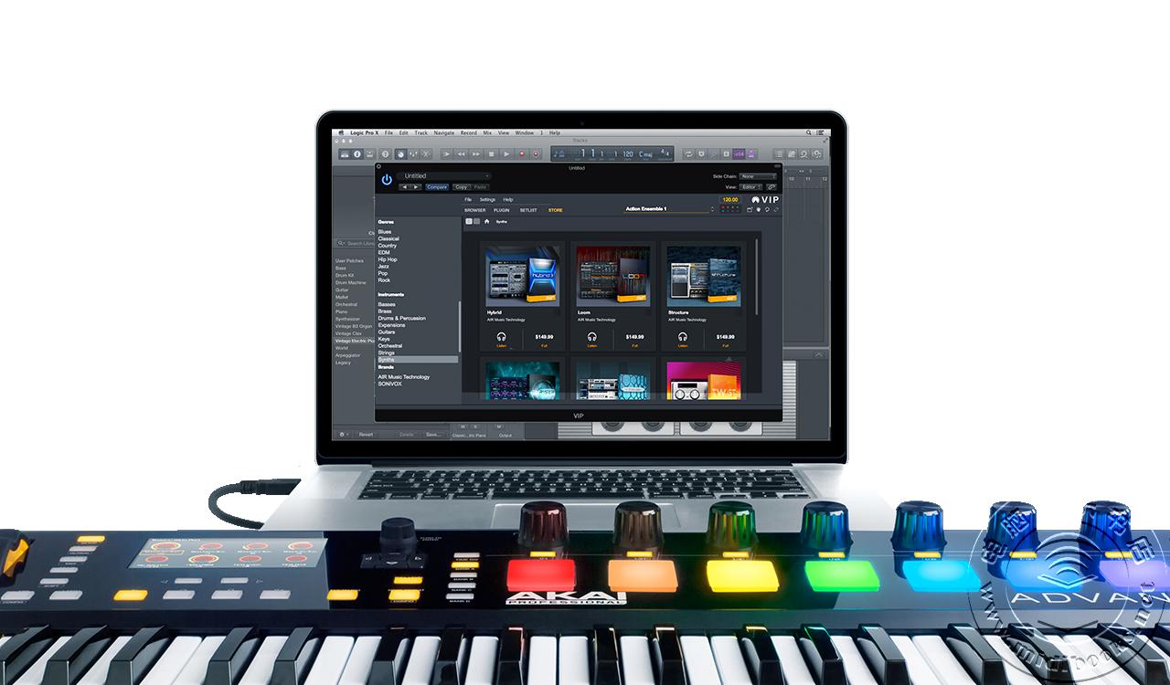 Akai发布Advance系列MIDI键盘控制器