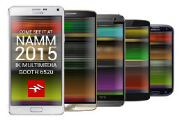 IK Multimedia 将为 Android 提供几乎零延迟的音频解决方案