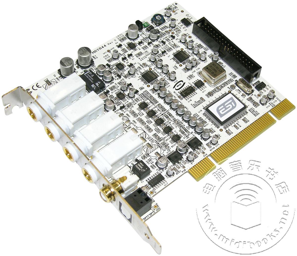 上海怡歌正式推出出色ESI MAYA 44专业声卡驱动V1.19