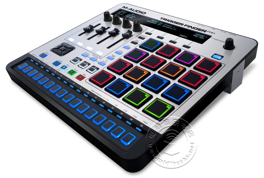 M-Audio发布新版Trigger Finger Pro MIDI控制器