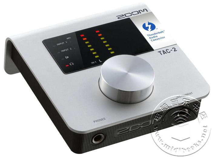 Zoom发布雷电音频接口TAC-2