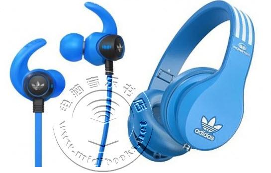2014年CES展会:蓝色主旋律 魔声和Adidas合作推高品质耳机和耳麦