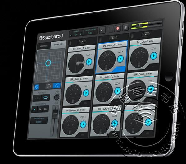 Cakewalk发布ScratchPad HD for iPad现场演奏应用