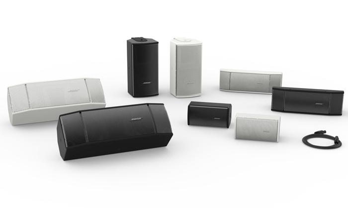 Bose较新推出多款RoomMatch® Utility扬声器