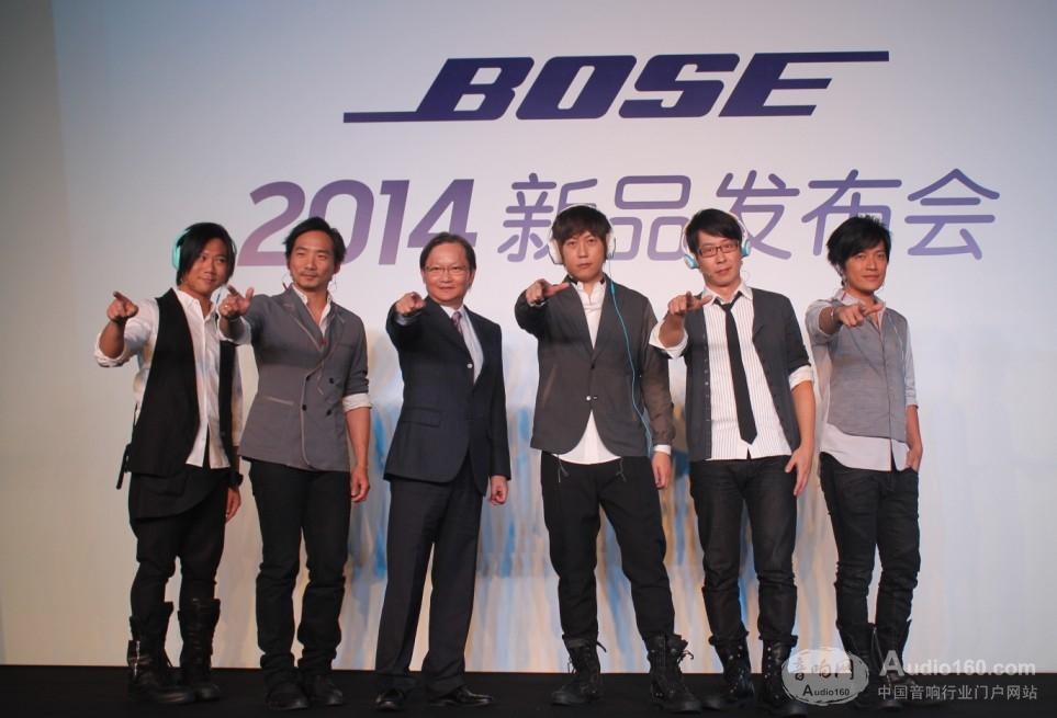 五月天团长较爱 Bose FreeStyle耳塞式耳机