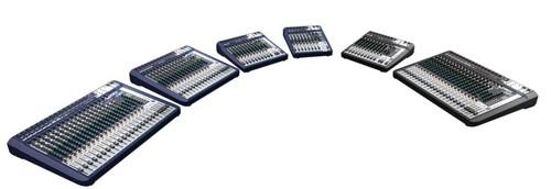 声艺推出了全新高品质的Signature系列模拟调音台