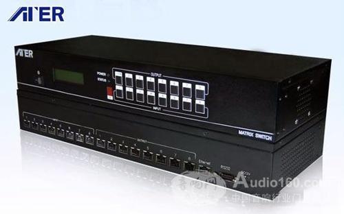 ATER推出较新8×8DVI双绞线矩阵颠覆工程