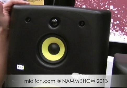NAMM SHOW 2013 展会视频:KRK 全系列监听音箱采访和介绍