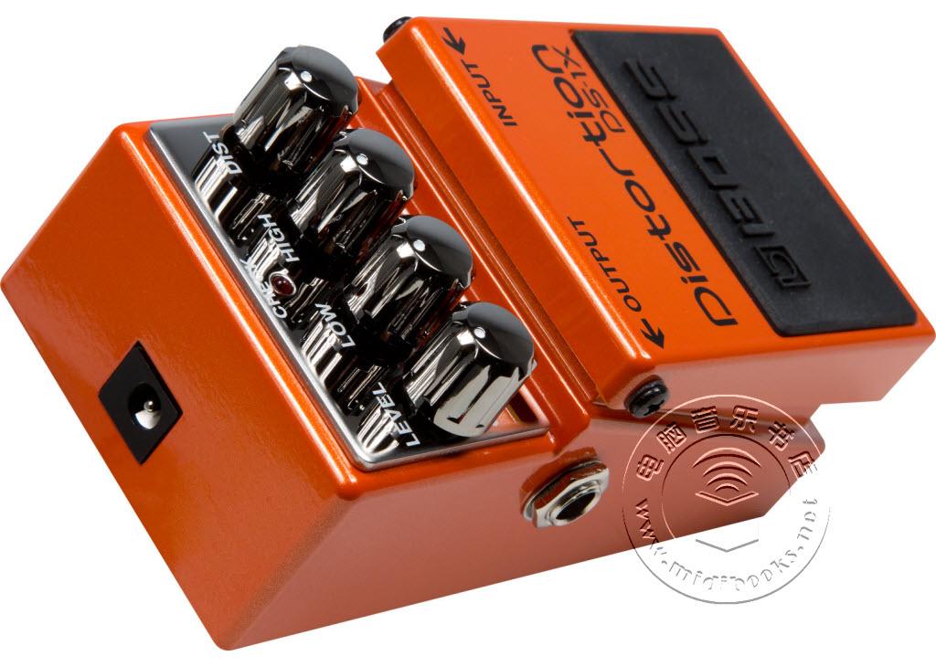 BOSS发布 DS-1X 失真效果器