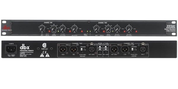 DBX 223XL 分频器【价格|图片|参数|介绍】