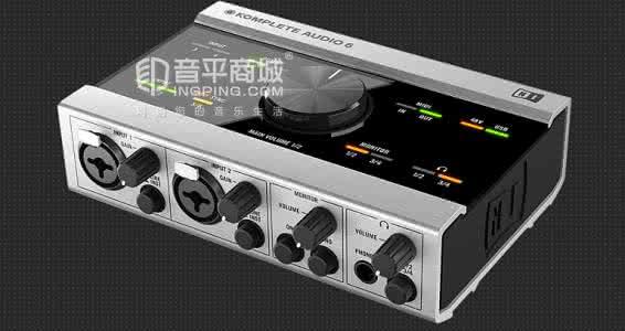 恩艾(NI) KOMPLETE AUDIO 6 音频接口说明书(英文版)
