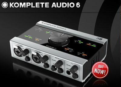 恩艾(NI) KOMPLETE AUDIO 6 音频接口驱动
