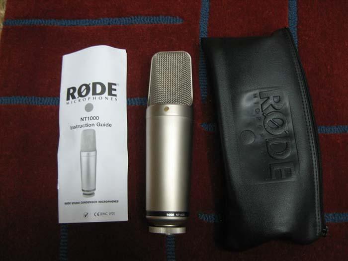 Rode NT1000 电容话筒 市场价格、产品参数介绍