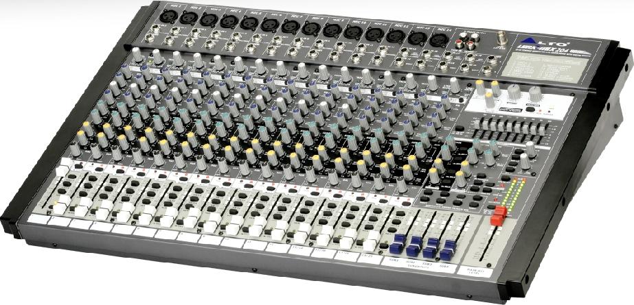ALTO欧图 LYNX-MIX 204 USB 调音台产品介绍