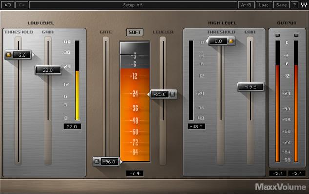 Waves Maxx Volume TDM 插件套装【价格|图片|参数|介绍】