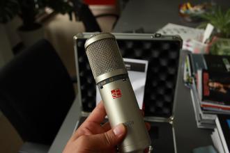sE Electronics sE2200a II C电容麦克风 开箱介绍(视频)