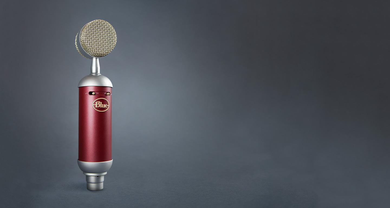 网络K歌主播使用的神器——Blue Spark SL 火花电容麦专业录音话筒