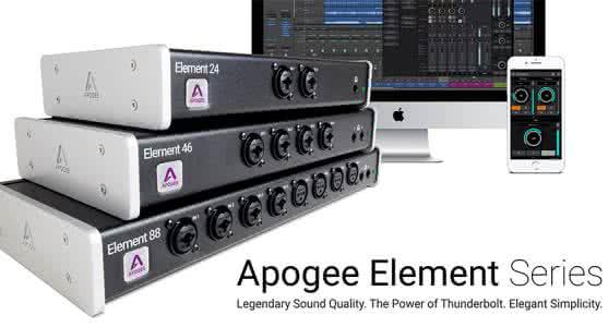 Apogee Element 46——小型乐队值得一用的音频接口